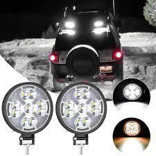 48W Đèn LED Làm Đèn Mini Tròn LED Siêu Sáng Ánh Sáng Ban Ngày Trắng Ánh