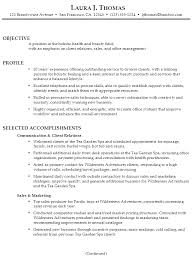 Resume For Client Relations And Sales Susan Ireland Resumes