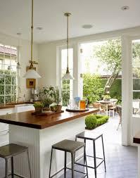 The Garden Kitchen Desde My Ventana Una Cocina Abierta Al Jardin Open Kitchen With