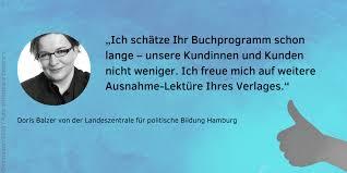 Doris Balzer über unser Verlagsprogramm - Verlag Barbara Budrich