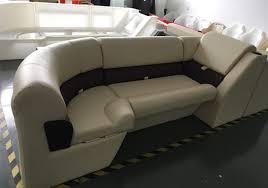 plastics moulding for pontoon boat seating