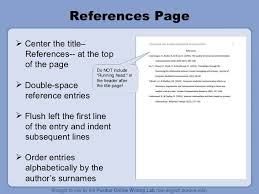 Apa Style For Powerpoint Apa Style Powerpoint Example Kleo References Page