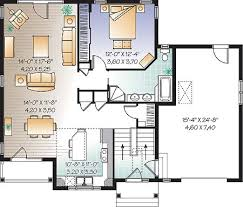 Country House Plan   Bedrooms and   Baths   Plan First level