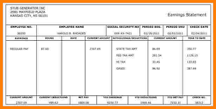 free paystub template excel download pay stub excel rome fontanacountryinn com