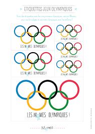 Etiquettes Jeux Olympiques Imprimer Momes Net