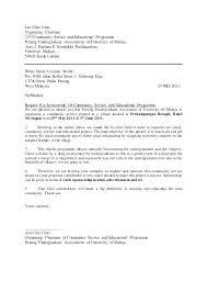 Cover Letter Sponsorship Sponsorship Letter Template