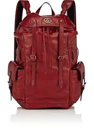 gucci men s re belle leather backpack