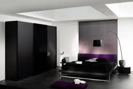 Black Cabinet Modern Bedroom Design Picture