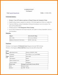 Sample Resume Microsoft Word Good Resume Format