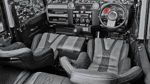 2015 land rover defender interior. land rover defender 110 gtb sports seats u0026 leather interior by chelsea truck company 2015 s