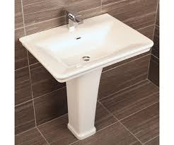 wall mount vs pedestal sink