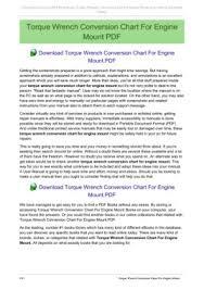 Torque Wrench Conversion Chart Pdf Torque Wrench Conversion Chart For Engine Mount Pages 1 11