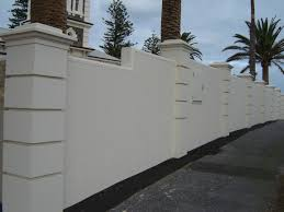 Small Picture Modern Wall Fence Design Home Design Ideas