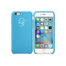 Light Blue Apple Case Margoun Silicone Case For Apple Iphone 6 Plus 6s Plus Back