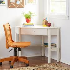 Beautiful corner desks furniture Bush Furniture Desk And Lamp Wayfair Corner Desk Motivate Daniel Half Moon Writing And For