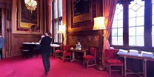 speakers house. the first reception room of three that form speakers house at palace westminster; r