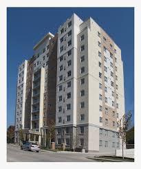 Apartment Building Tower Block Transparent Png 1200x900 Free