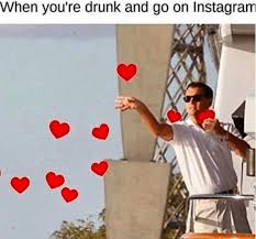 Drunk Instagram Usage Adheres to All Instagram Politics - TipsyCat via Relatably.com