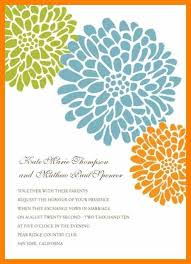 Free Invitation Template Word