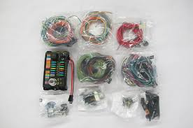 hot rod wiring harness kits solidfonts ez wiring kits hotrod hotline