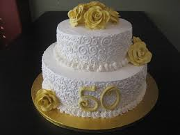 50th Wedding Anniversary Cake Toppers Classic Style Best 50th