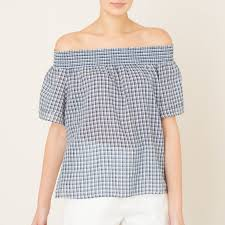 <b>Блузка</b> в <b>клетку</b> | <b>Блузки</b>, Женская рубашка и Короткие рукава