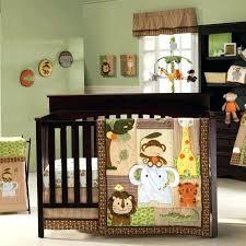 safari baby bedding safari baby bedding jungle walk 4 piece crib set by animal print sets