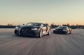 With the super sport 300+, bugatti took the chiron and optimized the bodywork for more slippery aerodynamics. Bugatti S Broad Spectrum Of Performance Bugatti Newsroom