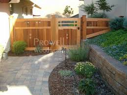 sloping fence