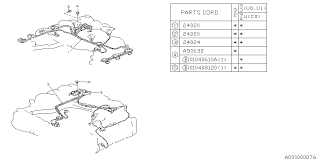 subaru engine wiring harness diagram subaru image engine wiring harness for 1993 subaru svx subaru parts deal on subaru engine wiring harness diagram