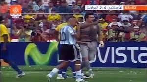 الشوط الثاني مباراة البرازيل و الارجنتين 3-0 نهائي كوبا امريكا 2007 - video  Dailymotion