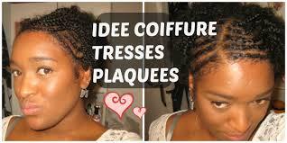 Idee Coiffure Tresses Plaqu Es Demi Tete Youtube