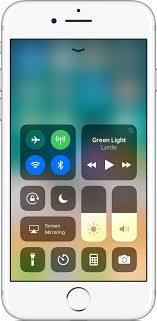 Quickly control settings and use apps