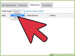 How To Sell Clothes On Roblox How To Trade Items On Roblox 11 Steps With Pictures Wikihow