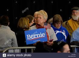 Concord, New Hampshire, USA. 10th Mar, 2019. Bernie Sanders supporter in  Concord, New Hampshire. Credit: Preston Ehrler/ZUMA Wire/Alamy Live News  Stock Photo - Alamy