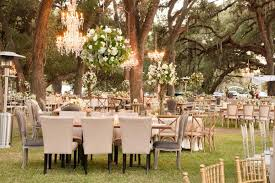 outdoor wedding furniture. Wedding Reception On Grass Lawn Among Trees In Texas Planned By Ann Whittington Rustic Chic Outdoor Furniture