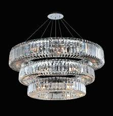 round crystal chandelier round 3 tier chandelier crystals for dining room chandelier w x h in chandeliers from