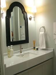 Extendable Mirror Bathroom Mirror In Dining Room Black Metal Frame Bathroom Full Size Square