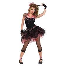 Charming Rubieu0027s Official 80u0027s Diva Fancy Dress   Standard