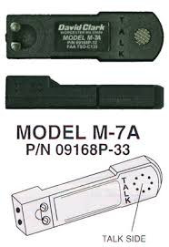 merchant my pilot store page 45 david clark m 7a amplified electret mic