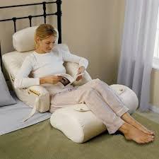 The BedLounge Hypoallergenic Bed Rest Pillow  Gad Flow