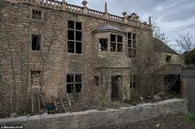 Who would live in a gothic manor like this Mysterious abandoned