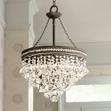 clarissa crystal drop small round chandelier small chandelier for closet