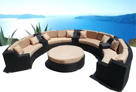 Patio Furniture Round Table Wicker Patio Furniture Table And Chairs