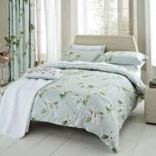 Aqua Floral Bedding | Sanderson Oleander Bed Linen at Bedeck Home ... & Aqua Floral Bedding | Sanderson Oleander Bed Linen at Bedeck Home Adamdwight.com