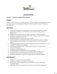 Hair Stylist Sampleb Description Templates Salon Receptionist Resume