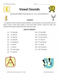 See our extensive collection of esl phonics materials for all levels, including word lists, sentences, reading passages, activities, and worksheets! Phonics Practice Test Vowel Sounds Worksheets 99worksheets
