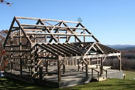 learn about timber frame buildings