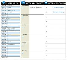 Free 10 Daily Planner Templates In Free Samples Examples