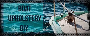 boat upholstery diy innovations auto